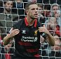 Barclays Premier League. Arsenal v Liverpool 04/04/15: Kevin Quigley/Daily Mail/Solo Syndication Jordan Henderson 3-1
