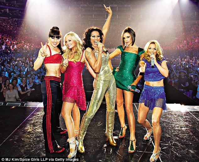 'I was 100 per cent fearless. If we'd listened to other people, things wouldn't have happened,' Geri said of The Spice Girls (pictured: reunited with the band in 2007)