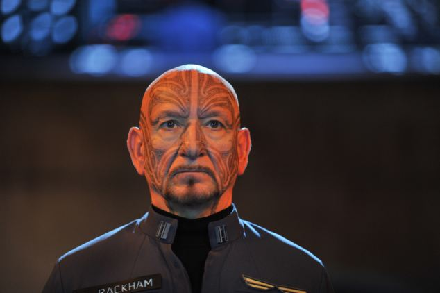 Ben Kingsley, done up hilariously in Maori war paint and sporting an accent that meanders from Canterbury to Canberra to Cape Town