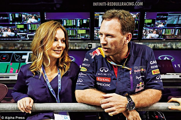 'When I go to the Formula 1 races, I'm not about all the glamour and that stuff. I've been there and done that...  I go to support him (Christian),' said Geri