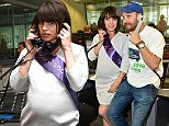 VIDEO AVAILABLE  Mandatory Credit: Photo by Nils Jorgensen/REX Shutterstock (5068930ce)  Charlotte Riley, Tom Hardy  BGC Annual Global Charity Day, London, Britain - 11 Sep 2015  Annual fundraiser in aid of 20 charities, where celebrities help raise money for their selected charity by assisting BGC brokers with multi-million pound deals on the trading floor.