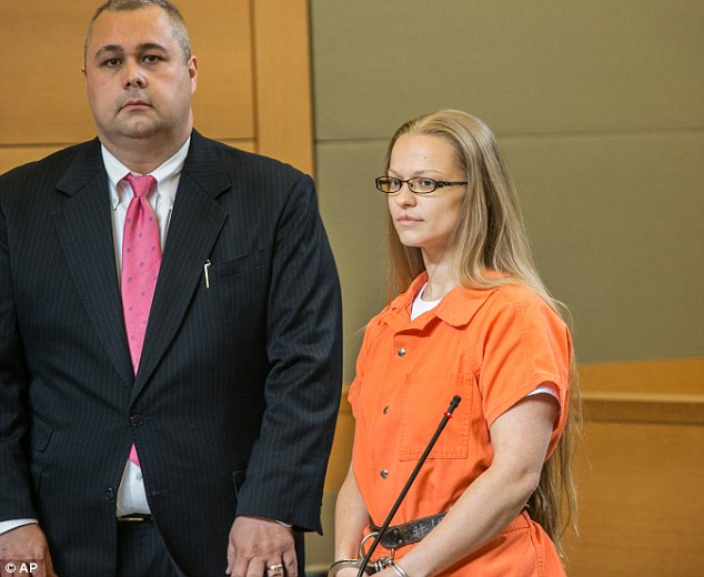 Angelika Graswald (pictured in court in May) has been charged with second-degree murder and second-degree manslaughter in her fiance's death, which was ruled a homicide by an 'intentionally removed drain plug'