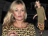 Kate Moss arrives at a friends birthday party in Mayfair, still wearing her wedding ring, despite constant speculation that her marriage is on the rocks  Pictured: Kate Moss Ref: SPL1122434  110915   Picture by: Squirrel / Splash News  Splash News and Pictures Los Angeles: 310-821-2666 New York: 212-619-2666 London: 870-934-2666 photodesk@splashnews.com