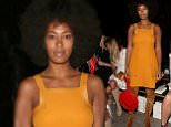 NEW YORK, NY - SEPTEMBER 11:  Shiona Turini (L) and singer Solange Knowles attend the Zimmermann fashion show during Spring 2016 New York Fashion Week at Art Beam on September 11, 2015 in New York City.  (Photo by Mireya Acierto/Getty Images for Zimmermann)