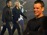 EXCLUSIVE: Matt Damon and Julia Stiles are seen on set filming scenes for the new Bourne 5. \nMatt Damon who plays Jason Bourne was spotted with co-star Julia Stiles during a night shoot in Spain.\n\nPictured: Matt Damon, Julia Stiles\nRef: SPL1114197  100915   EXCLUSIVE\nPicture by: Brett/JamesJenkins/Splash\n\nSplash News and Pictures\nLos Angeles: 310-821-2666\nNew York: 212-619-2666\nLondon: 870-934-2666\nphotodesk@splashnews.com\n