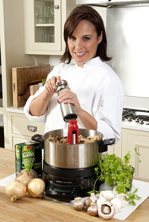 Causing a stir: Anne loves the HomeCooker, a pan that stirs itself and gave it four out of five rating