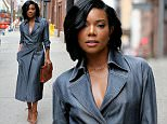 Actress Gabrielle Union attends Wes Gordon SS16 fashion show at Milk Studios in New York City on September 11, 2015\n\nPictured: Gabrielle Union\nRef: SPL1122973  110915  \nPicture by: Christopher Peterson/Splash News\n\nSplash News and Pictures\nLos Angeles: 310-821-2666\nNew York: 212-619-2666\nLondon: 870-934-2666\nphotodesk@splashnews.com\n