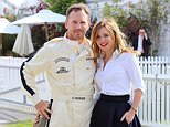 Geri Halliwell and Christian Horner pictured at the Goodwood Revival, Chichester, West Sussex today.\n\nThe Goodwood Revival is a three-day motoring festival held each September at Goodwood Motor Circuit for road racing cars and motorcycle that would have competed during the circuit's original period¿1948¿1966.