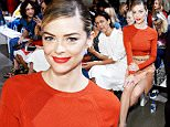 NEW YORK, NY - SEPTEMBER 11:  Actress Jaime King (C) attends the Jason Wu fashion show during Spring 2016 New York Fashion Week at Spring Studios on September 11, 2015 in New York City.  (Photo by Ben Gabbe/Getty Images)