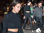 Bella Hadid spotted yet again with new romance The Weeknd holding hands after leaving party with Justin Timberlake, Lewis Hamilton, Gig Hadid, Nicky Hilton and Tinashe.\n\nPictured: Bella Hadid and The Weeknd\nRef: SPL1122920  110915  \nPicture by: @PapCultureNYC / Splash News\n\nSplash News and Pictures\nLos Angeles: 310-821-2666\nNew York: 212-619-2666\nLondon: 870-934-2666\nphotodesk@splashnews.com\n