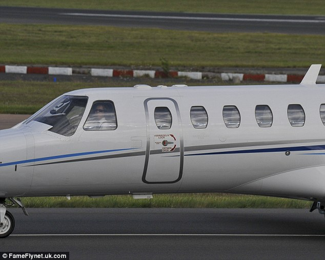 After touching down at 5.20pm on Friday, Darmian headed to Carrington for his Manchester United medical