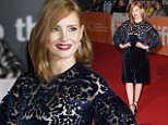 """TORONTO, ON - SEPTEMBER 11:  Actress Jessica Chastain attends """"The Martian"""" premiere during the 2015 Toronto International Film Festival at Roy Thomson Hall on September 11, 2015 in Toronto, Canada.  (Photo by Jason Merritt/Getty Images)"""