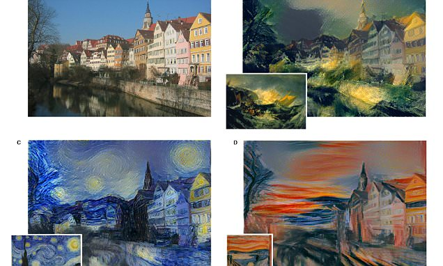 Computer algorithm manages to paint in the style of artists like Turner and Munch