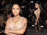 NEW YORK, NY - SEPTEMBER 12:  Nicki Minaj attends the Alexander Wang Spring 2016 fashion show during New York Fashion Week at Pier 94 on September 12, 2015 in New York City.  (Photo by Craig Barritt/Getty Images)
