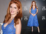 NEW YORK, NY - SEPTEMBER 12:  Bella Thorne is Seen Around Spring 2016 New York Fashion Week The Shows on September 12, 2015 in New York City.  (Photo by John Parra/Getty Images)