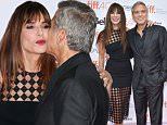 "TORONTO, ON - SEPTEMBER 11:  Executive Producer/Actress Sandra Bullock (L) and Producer George Clooney attend the ""Our Brand is Crisis"" premiere during the 2015 Toronto International Film Festival at Princess of Wales Theatre on September 11, 2015 in Toronto, Canada.  (Photo by George Pimentel/WireImage)"