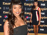Taraji P. Henson at the season two premiere gold carpet for Empire in New York.\n\nPictured: Taraji P. Henson\nRef: SPL1116112  120915  \nPicture by: Splash News\n\nSplash News and Pictures\nLos Angeles: 310-821-2666\nNew York: 212-619-2666\nLondon: 870-934-2666\nphotodesk@splashnews.com\n