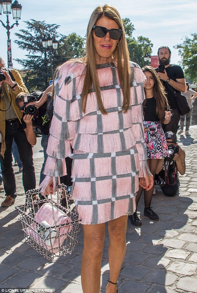 Editor at Large and creative consultant for Vogue Japan, it's rare that a runway show kicks off in any of the four fashion capitals without the presence of Anna Dello Russo