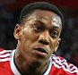 12th September 2015 - Barclays Premier League - Manchester United v Liverpool - Anthony Martial of Man Utd celebrates after scoring their 3rd goal - Photo: Simon Stacpoole / Offside.