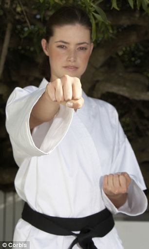 Researchers looked for differences in brain structure between 12 karate black belts and 12 people of similar age who did not have any martial arts experience