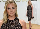 NEW YORK, NY - SEPTEMBER 13:  Kate Upton attends the new Gold Collection fragrance launch hosted by Michael Kors featuring Duran Duran at Top of The Standard Hotel on September 13, 2015 in New York City.  (Photo by Dimitrios Kambouris/Getty Images for Michael Kors)