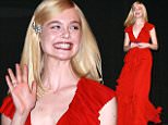 eURN: AD*180832166  Headline: FAMEFLYNET - Celebrities Attend The Premiere Of Trumbo At The Toronto International Film Festival In Canada Caption: Picture Shows: Elle Fanning  September 12, 2015    Celebrities attend the premiere of 'Trumbo' at the 2015 Toronto International Film Festival in Toronto, Canada.    Non-Exclusive  UK RIGHTS ONLY    Pictures by : FameFlynet UK ? 2015  Tel : +44 (0)20 3551 5049  Email : info@fameflynet.uk.com Photographer: 922 Loaded on 13/09/2015 at 04:06 Copyright:  Provider: FameFlynet.uk.com  Properties: RGB JPEG Image (17693K 509K 34.8:1) 2013w x 3000h at 72 x 72 dpi  Routing: DM News : GeneralFeed (Miscellaneous) DM Showbiz : SHOWBIZ (Miscellaneous) DM Online : Online Previews (Miscellaneous), CMS Out (Miscellaneous)  Parking: