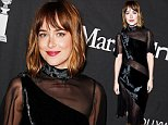 TORONTO, ON - SEPTEMBER 12:  Actress Dakota Johnson attends Hollywood Foreign Press Association & InStyle's annual celebration of The Toronto International Film Festival at Windsor Arms Hotel on September 12, 2015 in Toronto, Canada.  (Photo by George Pimentel/Getty Images for HFPA)