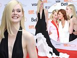 """Elle Fanning attends a premiere for """"About Ray"""" on day 3 of the Toronto International Film Festival at the Princess of Wales theatre on Saturday, Sept. 12, 2015, in Toronto. (Photo by Richard Shotwell/Invision/AP)"""