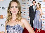 Mandatory Credit: Photo by Startraks Photo/REX Shutterstock (5073824l)  John Krasinski and Emily Blunt  'Sicario' Premiere, Toronto International Film Festival, Canada - 11 Sep 2015  Sicario Premiere During 2015 Toronto Film Festival