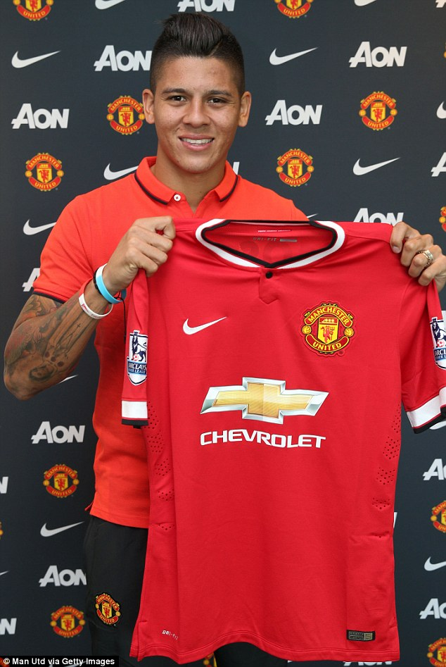 'Spoilt': Marcos Rojo, the £200,000-a-week Manchester United defender who signed for £16m