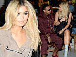 NEW YORK, NY - SEPTEMBER 13:  Tyga (L) and Kylie Jenner attend the Opening Ceremony Spring 2016 fashion show during New York Fashion Week at 25 Wall Street on September 13, 2015 in New York City.  (Photo by Ben Gabbe/Getty Images)