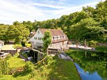 Upper Crisbrook Mill in Maidstone, Kent, is on the market for £1.25million with Fine & Country (fineandcountry.com)