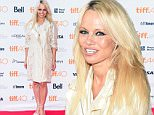 TORONTO, ON - SEPTEMBER 13:  Co-Executive Producer Pamela Anderson attends the 'This Changes Everything' premiere during the Toronto International Film Festival at the Ryerson Theatre on September 13, 2015 in Toronto, Canada. (Photo by Dominik Magdziak Photography/WireImage)