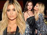 Mandatory Credit: Photo by Steve Eichner/WWD/REX Shutterstock (5074236f)\n Kylie Jenner in the front row\n Prabal Gurung show, Spring Summer 2016, New York Fashion Week, America - 13 Sep 2015\n \n