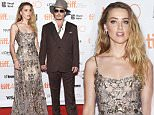 Mandatory Credit: Photo by Andrew H Walker/REX Shutterstock (5074031v)\n Johnny Depp and Amber Heard\n 'Danish Girl' Premiere, Toronto International Film Festival, Canada - 12 Sep 2015\n \n