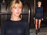 Hailey Baldwin steps out in Little Black Dress in NYC\n\nPictured: Hailey Baldwin\nRef: SPL1125182  130915  \nPicture by: 247PAPS.TV / Splash News\n\nSplash News and Pictures\nLos Angeles: 310-821-2666\nNew York: 212-619-2666\nLondon: 870-934-2666\nphotodesk@splashnews.com\n