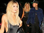 Kylie Jenner and Tyga go to Game nightclub after attending Alexander Wang in NYC\n\nPictured: Kylie Jenner and Tyga\nRef: SPL1124414  120915  \nPicture by: XactpiX/Splash\n\nSplash News and Pictures\nLos Angeles: 310-821-2666\nNew York: 212-619-2666\nLondon: 870-934-2666\nphotodesk@splashnews.com\n