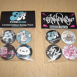 Image of Funkrush Badges