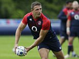Rugby Union - England Training - Pennyhill Park, Bagshot, Surrey - 14/9/15  England's Sam Burgess during training  Action Images via Reuters / Henry Browne  Livepic  EDITORIAL USE ONLY.