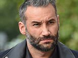 14 September 2015. Dane Bowers trial at Croydon Magistrates Court, London. Dane Bowers seen arriving at court for the second day of his previously adjourned trial. He is accused of assaulting his ex girlfriend Sophia Cahill Credit: Andy Oliver/GoffPhotos.com   Ref: KGC-143