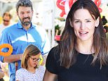 Ben Affleck and Jennifer Garner take their three children to the Farmer's Market in Brentwood\nFeaturing: Ben Affleck, Violet Affleck\nWhere: Los Angeles, California, United States\nWhen: 13 Sep 2015\nCredit: WENN.com