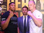 Match room Boxing Press Conference. Heavy Duty.  Anthony Joshua v Gary Cornish 10/09/15: Picture Kevin Quigley/solo syndication