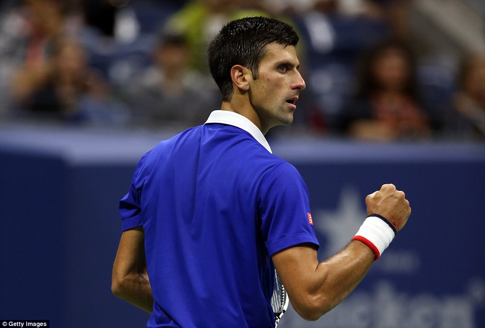 Novak Djokovic clinched his third grand slam of the year - his 10th in total - and second at the US Open after beating Roger Federer