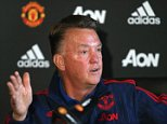 MANCHESTER, ENGLAND - SEPTEMBER 11:  (EXCLUSIVE COVERAGE) Manager Louis van Gaal of Manchester United speaks during a press conference at Aon Training Complex on September 11, 2015 in Manchester, England.  (Photo by Matthew Peters/Man Utd via Getty Images)