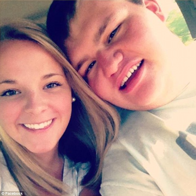 Hurtful: Most of the comments were directed at Christopher's weight, but many also suggested that the 21-year-old was 'missing a chromosome'