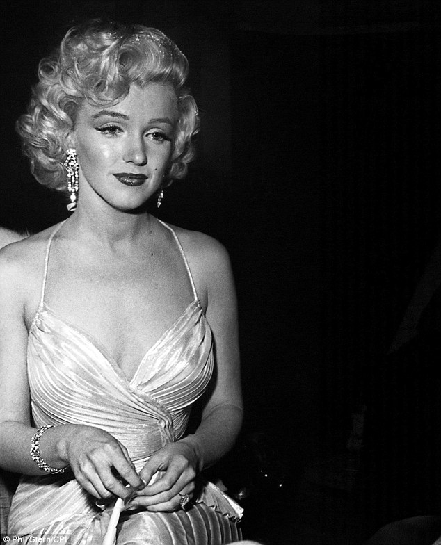 Stunning: The acclaimed photographer captured this image of Monroe at the Shrine Auditorium in 1953