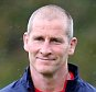 BAGSHOT, ENGLAND - SEPTEMBER 14:  Stuart Lancaster, the England head coach looks on during the England training session at Pennyhill Park on September 14, 2015 in Bagshot, England.  (Photo by David Rogers/Getty Images)