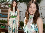 LOS ANGELES, CA - SEPTEMBER 13:  Actresses Sasha Alexander and Jessica Biel attend Amazon Video's Tumble Leaf Family Fun Day hosted by Au Fudge on September 13, 2015 in Los Angeles, California.  (Photo by Chris Weeks/Getty Images for Amazon)