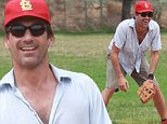 "*EXCLUSIVE* *SHOT ON 9/12/15* North Hollywood, CA - 'Mad Men' star Jon Hamm finds time to play a friendly baseball game with friends near Hollywood. Jon, 44, and ex Jennifer Westfeldt, 45, announced their separation earlier this week - just months after the hunk publicly thanked the actress-and-director for helping him overcome alcohol abuse. In a statement, they said: ""With great sadness, we have decided to separate, after 18 years of love and shared history. ""We will continue to be supportive of each other in every way possible moving forward."" Jon completed a 30-day stint in rehab earlier this year after battling alcohol abuse. The actor's representative said at the time: ""With the support of his longtime partner Jennifer Westfeldt Jon Hamm recently completed treatment for his struggle with alcohol addiction. They have asked for privacy and sensitivity going forward.""\\n\\nAKM-GSI       September 13, 2015\\n\\nTo License These Photos, Please Contact :\\n\\nSteve Ginsburg\\n(310) 50"