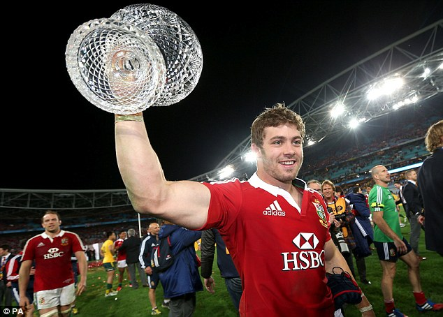 Greats: The battle for IRb Player of the Year between Kieran Read (above) and Leigh Halfpenny (below) could be close, but one the former should win after fine performances for the Kiwis